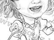 Caricature bambini