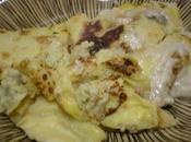 Pasticcio Crepes Riso Salsa Gorgonzola