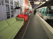 L'ikea arreda metro parigi