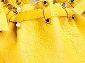 borsa gialla cestello Alexander Wang