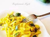 Scialatielli succo limone Sorrento zucchine croccanti