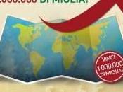 Alitalia: MILIONE miglia omaggio
