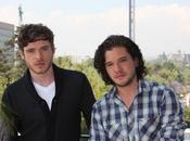 pensiero telefilmico: Harigton (Jon Snow) Richard Madden (Robb Stark) promuovono Game Thrones