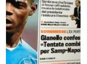 "Gianello choc: ""tentata combine samp-napoli,mi rivolsi cannavaro grava"