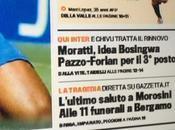 Foto-ecco l'anteprima della prima pagina gazzetta dello sport,napoli chivu sta…