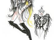 bozzetti Giorgio Armani Born This Ball Tour Lady Gaga