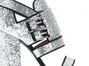 Givenchy sandals glitter