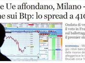 mercati 'bocciano' Hollande, crollano borse spread risale mentre Olanda dimette Governo