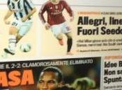 """Foto ecco prima pagina della gazzetta dello sport- """"torna casa messi(lessi)"""""""