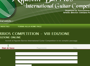 Barrios Competition 2012 Iscrizioni aperte!