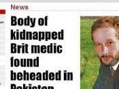 Pakistan, citta' Quetta: decapitato medico britannico della Croce Rossa Internazionale