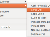 Menu contestuali stile dark tema Ambiance Ubuntu 12.04 Precise Pangolin