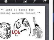 Rage Maker, crea faccine meme iPhone