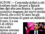 """Soldi nudo davati Obama"". Magnate promette 100mila dollari"
