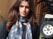 Chiara Carola alla Milano Fashion Week Voguette Fendi Richmond