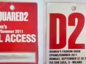 Milano Moda Donna 2011: Dsquared2