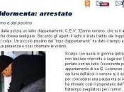 Ladro s'addormenta: arrestato