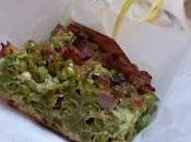 torta salata piselli salsiccia