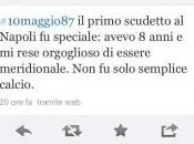"""FOTO Ecco Twitter Roberto Saviano ricorda scudetto: primo scudetto Napoli rese orgoglioso essere.."""""""