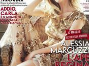 Alessia Marcuzzi Vanity Fair veste Roberto Cavalli