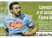 """FOTO- TuttoSport: """"Lavezzi gela l'Inter, Pocho sarà giocatore del…"""""""