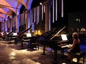 Piano City Milano note pianoforte avvolgono città