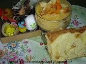 Colomba affogata crema d'arancia