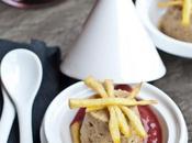 Budino champignon spuma vino sticks patate