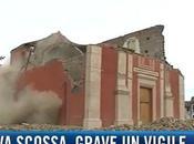 Altra scossa terremoto Emilia: nuovi crolli, vigile ferito