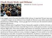 Flash Book Mob: Milano
