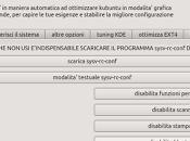 Kubuntuoptimix12.04 velocizza automaticamente kubuntu