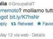 Terremoto Emilia: Groupalia becera ironia