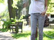 OBJECT DESIRE Animal print Current Elliott jeans