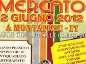 Sabato giugno Fiera Mercato/Saturday june Antiques arts crafts, vintage local food products