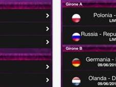 Europei calcio diretta iPhone l'app Euro 2012