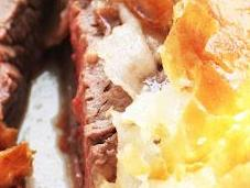 taglio pregiato antianemico: FILETTO CROSTA timballo zucchine