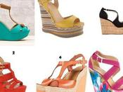 Shopping selection: wedges