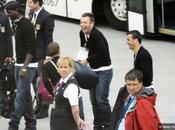 "FOTO- Antonio Cassano ""palpa"" lato Mario Balotelli!"