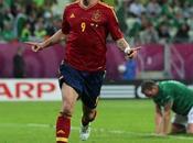 Europei 2012 Gruppo Spagna stende l'Irlanda