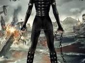 lato Milla Jovovich bella mostra nuovo poster Resident Evil: Retribution