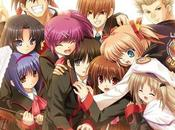 produzione l'anime Little Busters