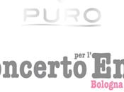 """""""Concerto l'Emilia"""": Puro partner principale dell'evento"""