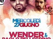 27/6 Wender (Radio Deejay) Paolo Pellegrino Stop Music Club, Marzaglia (Mo)