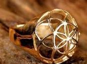 """""""Fiore della Vita"""" anello"""