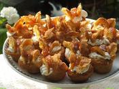 Bigné salati Roquefort fichi