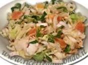 Fare pieno energia insalate