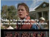 Fake data oggi pannello della DeLorean 'Ritorno futuro'