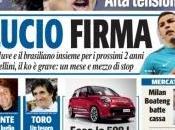 Ecco prime pagine oggi Gazzetta Tuttosport Corriere dello Sport