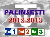 Palinsesti Rai, Mediaset stagione 2012-2013