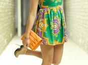 OUTFIT: Print Dress
